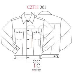 Cazadora tejana CZTH001