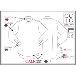 Chemise CAMC001