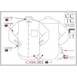 Camisa CAMC002