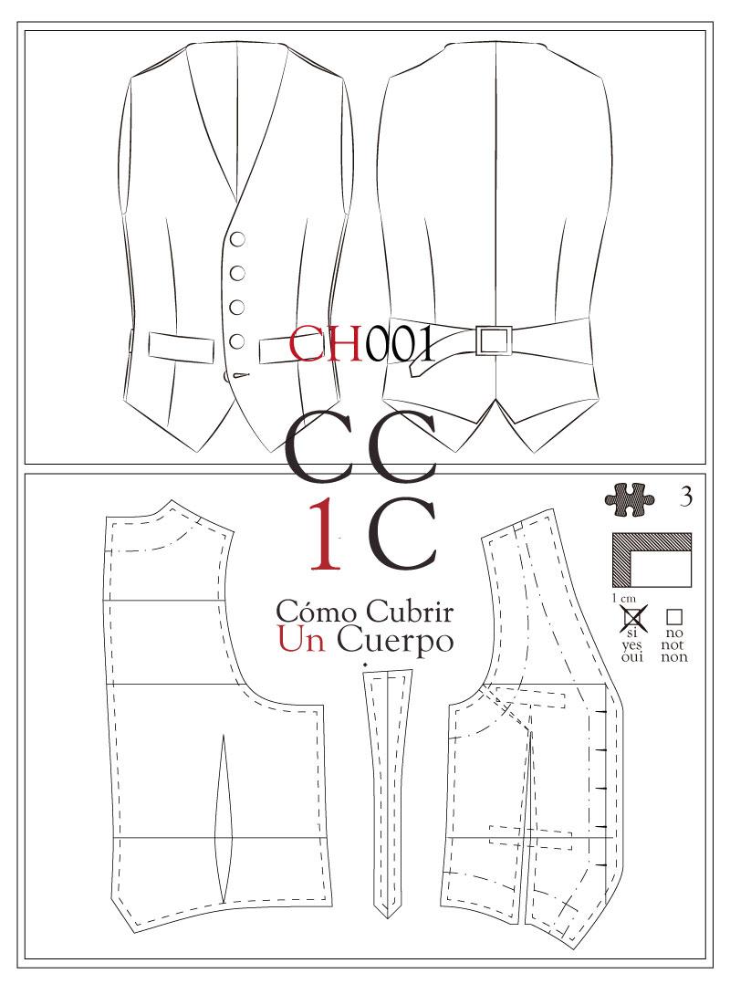 Chaleco CH001 Tecnico Cómo cubrir un cuerpo