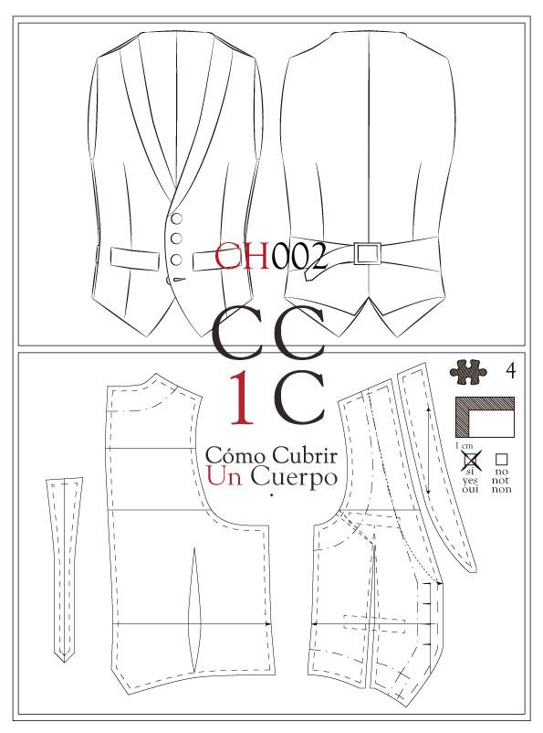 Chaleco CH002 Tecnico Cómo cubrir un cuerpo